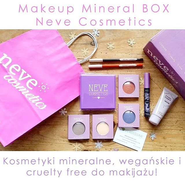 Makeup Mineral Box Neve Cosmetics